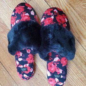 Victoria's Secret Floral Slippers
